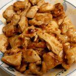 鶏肉のマヨポン炒め(ニンニク風味)、こってり&さっぱり♪