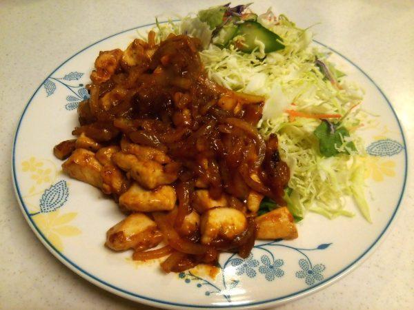 鶏チリ、ケチャップを使って簡単に作る
